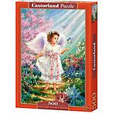 """Пазл Castorland """"Ангел в саду"""" 500 деталей"""