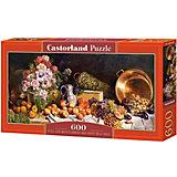 """Пазл Castorland """"Натюрморт с цветами"""" 600 деталей"""
