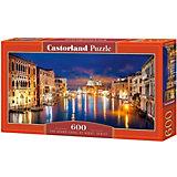 """Пазл Castorland """"Большой канал, Венеция"""" 600 деталей"""