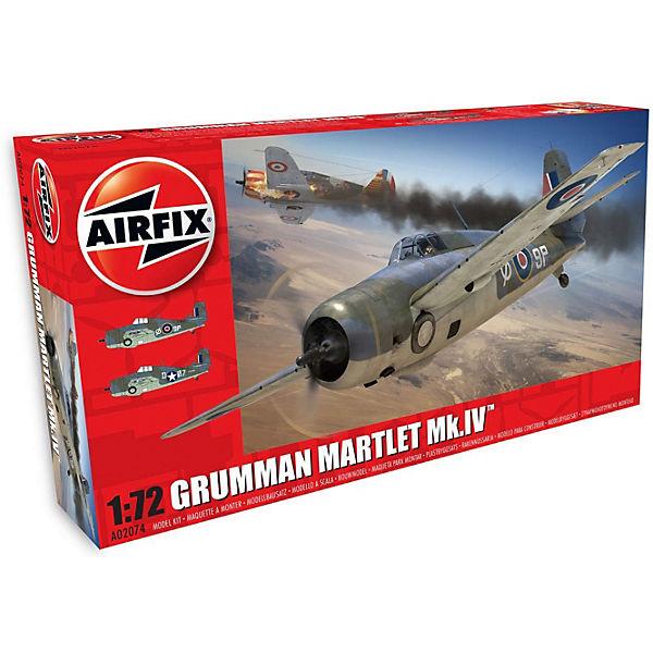 """Сборная модель Airfix """"Истребитель Grumman Martlet Mk.IV"""" 1:72"""