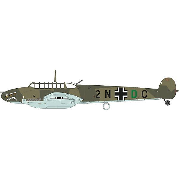 """Сборная модель Airfix """"Истребитель Messerschmitt Bf110C/D"""" 1:72"""