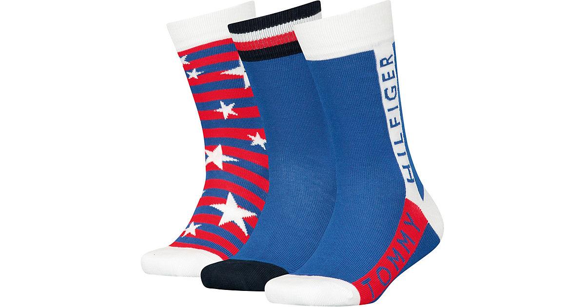 Tommy Hilfiger · Socken 3-er Pack Gr. 31-34 Jungen Kinder
