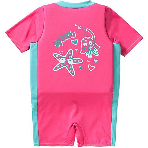Kinder Schwimmanzug eingearbeiteter mit Schwimmweste Gr. 104 Mädchen Kleinkinder | 05053744315355