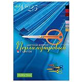 Набор цветного картона № 25 Альт А4, 7 листов (перламутровый)