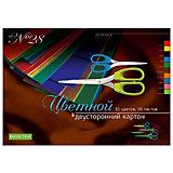 Набор цветного картона № 28 Альт А3, 10 листов (двухсторонний)