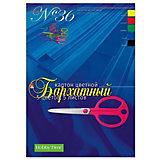 Набор цветного картона № 36 Альт А4, 5 листов (бархатный)