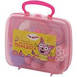 """Салон красоты Полесье """"Три кота. Принцессы"""", в чемоданчике (розовый)"""