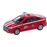 Машинка Welly Lada Vesta Пожарная охрана, 1:34-39