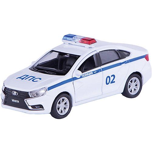 Машинка Welly Lada Vesta Полиция ДПС, 1:34-39 от Welly