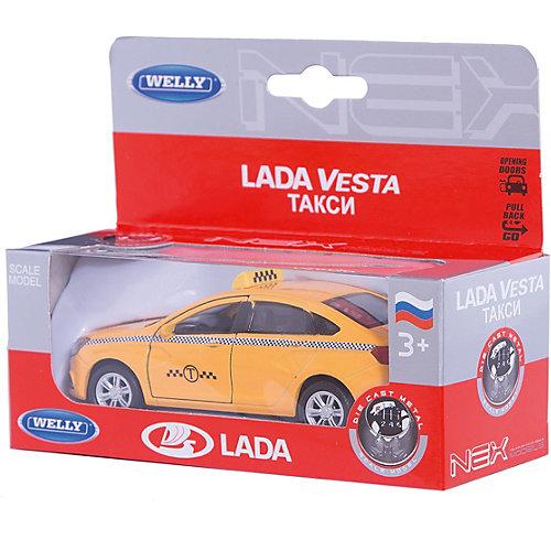 Машинка Welly Lada Vesta Такси, 1:34-39 от Welly