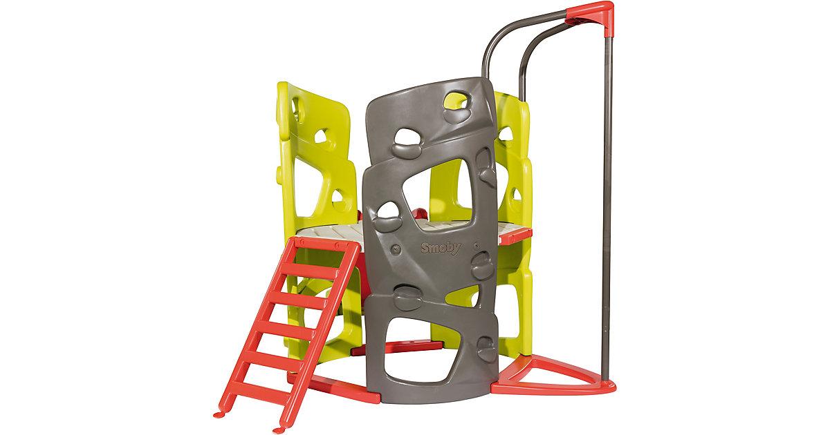 SMOBY · Smoby Kletter-Spielturm mit Rutsche