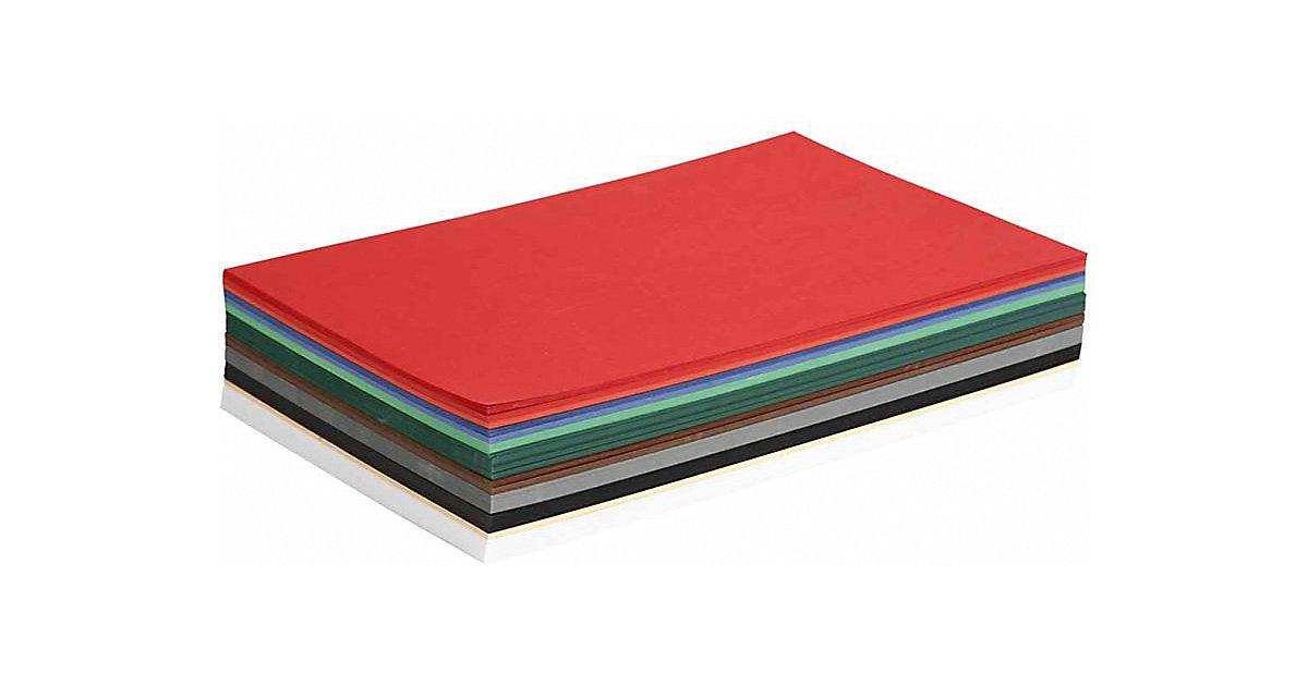 Weihnachtskarton, A4 210x297 mm, 180 g, Sortierte Farben, 300 Blatt sort.