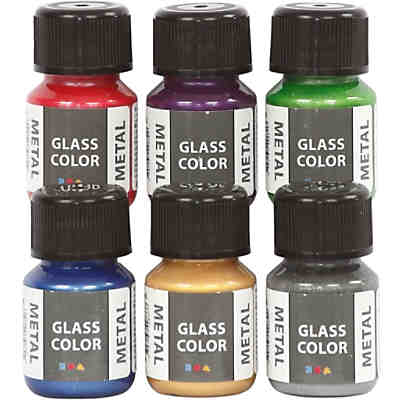 Glass Color Metal, 6x35ml