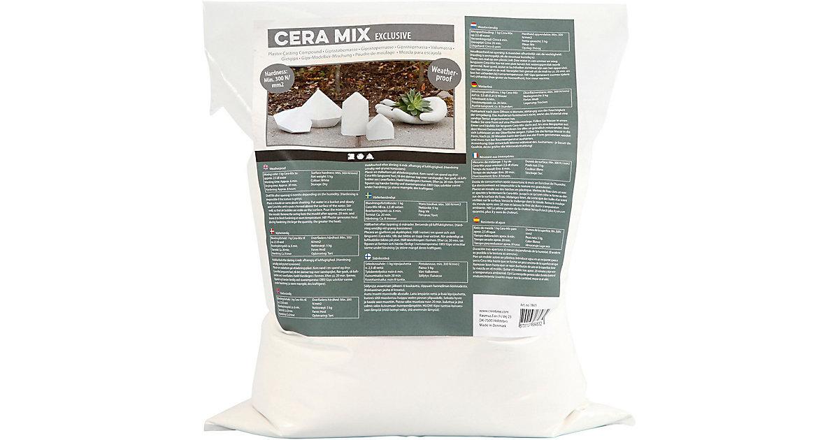 Cera-Mix Gießmasse ´´Luxus´´, Weiß, Wetterfest, 5kg