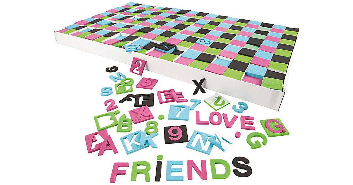 Moosgummi-Buchstaben & Zahlen, Größe 30x30 mm, ...