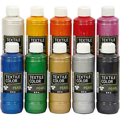 Textile Color Pearl, 10x250ml