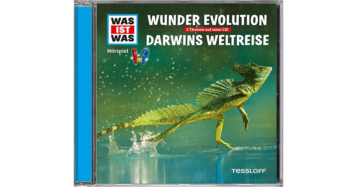 CD Was Ist Was 65 - Wunder Evolution/ Darwins Weltreise Hörbuch
