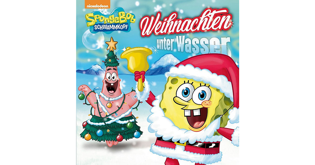 CD SpongeBob Schwammkopf - Weihnachten unter Wa...