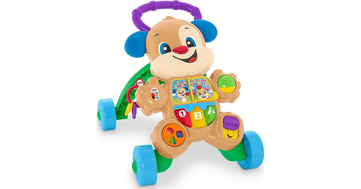 Fisher-Price Lernspaß Hündchens Lauflernwagen, Lauflernhilfe Baby, Laufwagen