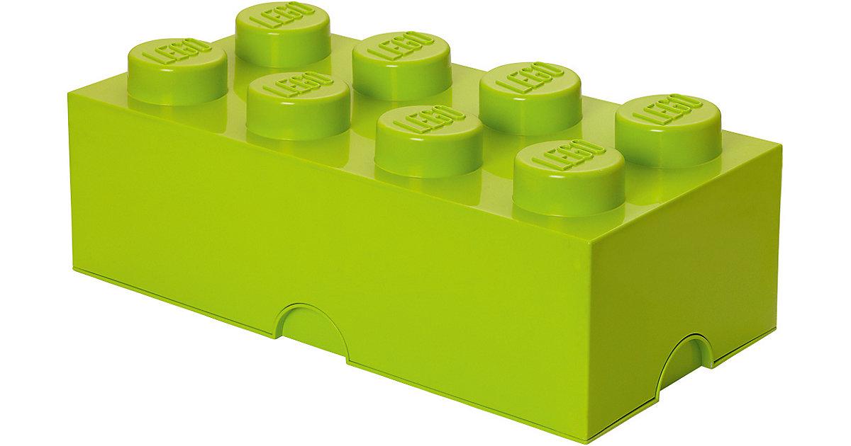 LEGO · LEGO Aufbewahrungsbox Storage Brick Stein hellgrün, 8 Stück