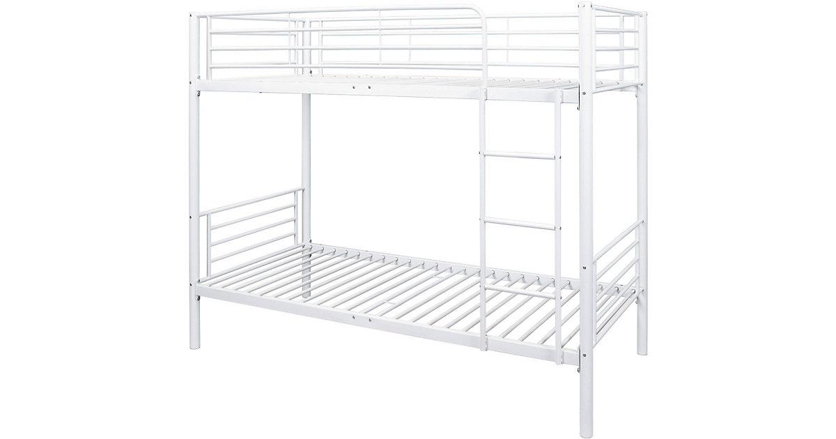 etagenbett wei preisvergleich die besten angebote online kaufen. Black Bedroom Furniture Sets. Home Design Ideas