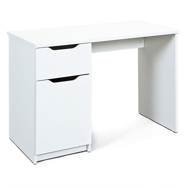 schreibtisch mit schublade t r mytoys. Black Bedroom Furniture Sets. Home Design Ideas