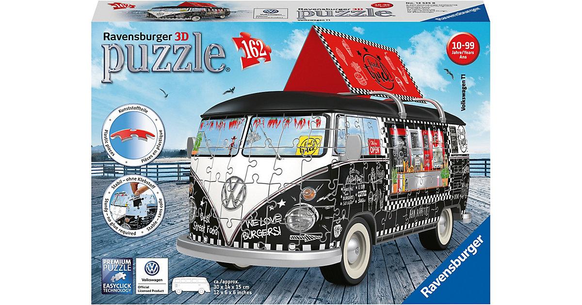 3D Puzzle 162 Teile Volkswagen T1 Food Truck