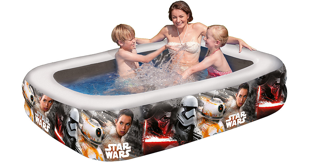 Happy People · Family Pool Star Wars