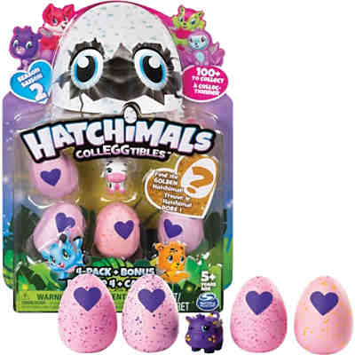 Hatchimals Colleggtibles 4 Pack Bonus S2