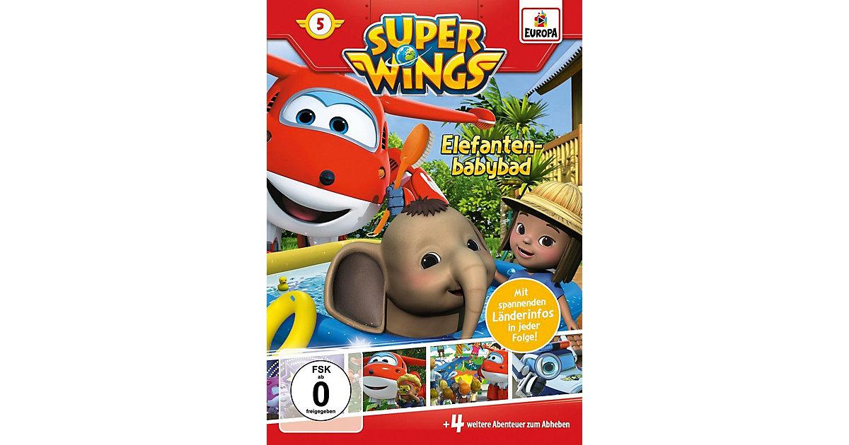 DVD Super Wings 05 - Elefantenbabybad