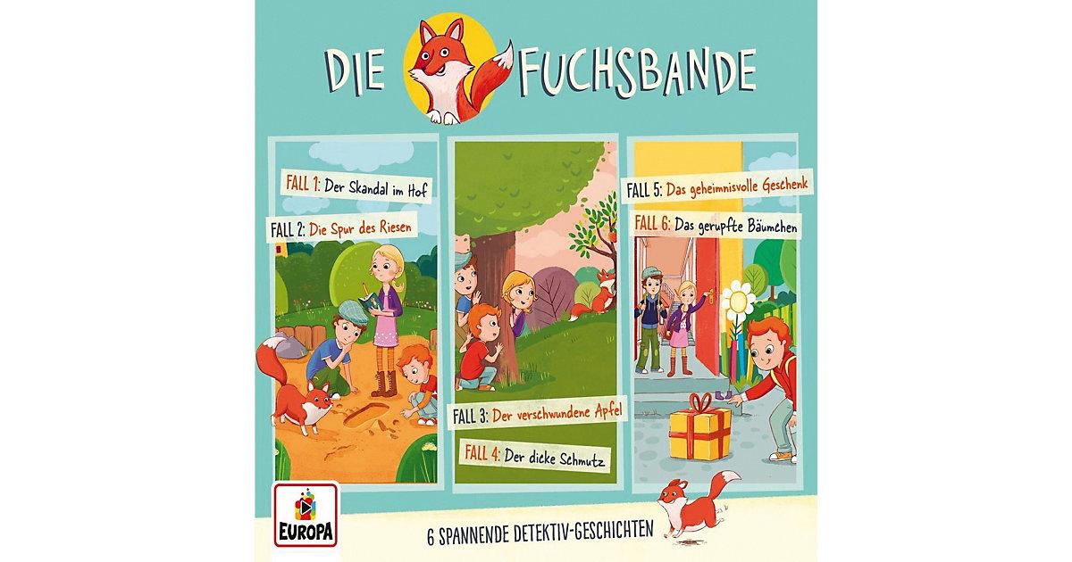 CD Die Fuchsbande 01 - 3er Detektiv-Box (Folgen 1,2,3) Hörbuch