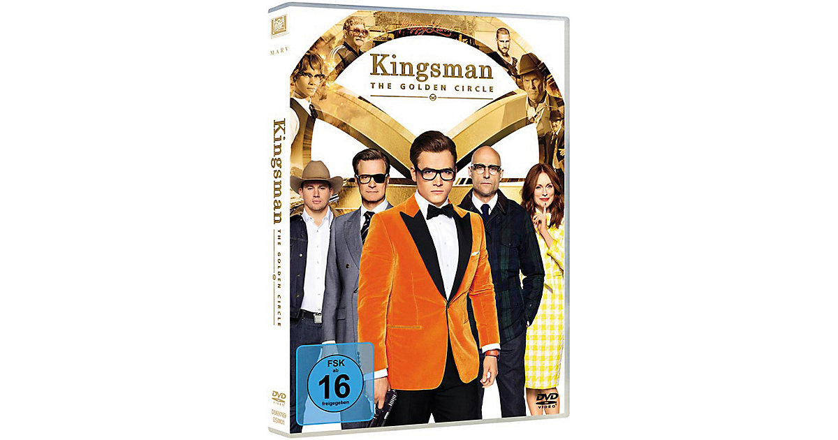 DVD Kingsman - The Golden Circle