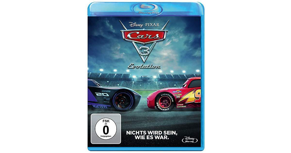 Disney · BLU-RAY Cars 3 - Evolution