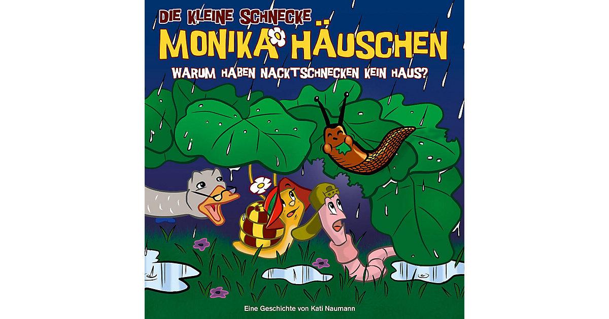 CD Die Kleine Schnecke Monika Häuschen 49 - Warum haben Nacktschnecken kein Haus? Hörbuch