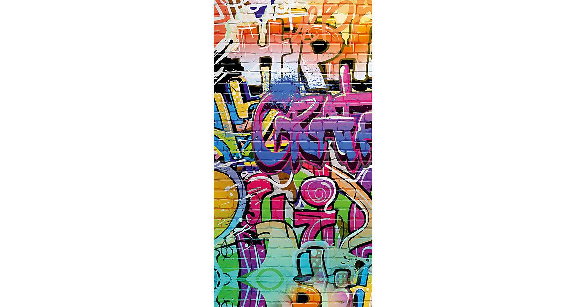 Strand- / Badetuch Graffiti, 75 x 100 cm Gr. 75 x 150