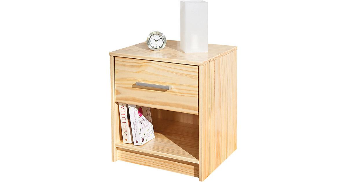 nachttisch kiefer natur machen sie den preisvergleich bei nextag. Black Bedroom Furniture Sets. Home Design Ideas