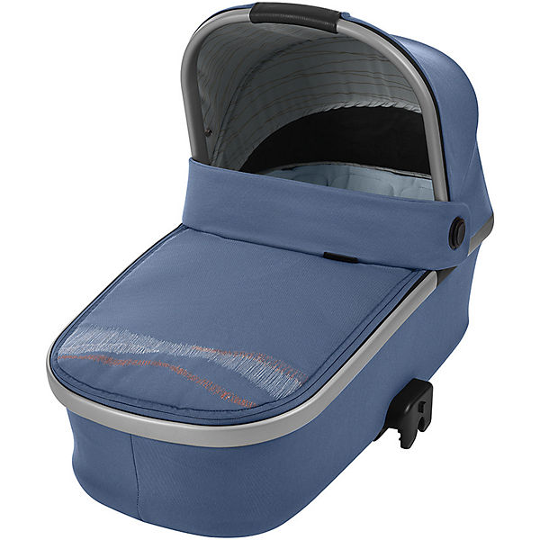 Kinderwagenaufsatz Oria, faltbar, Frequency Blue