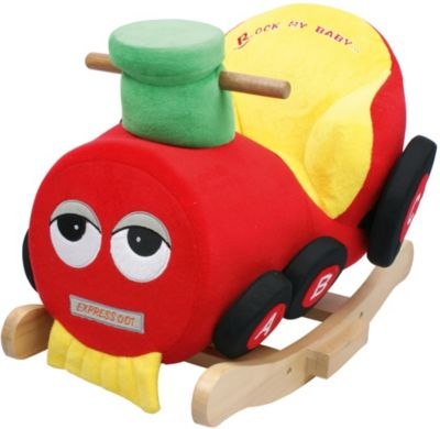 BIECO Schaukeltier ESEL Schaukelpferd Baby Schaukel Babyschaukel Kinderschaukel Holzspielzeug