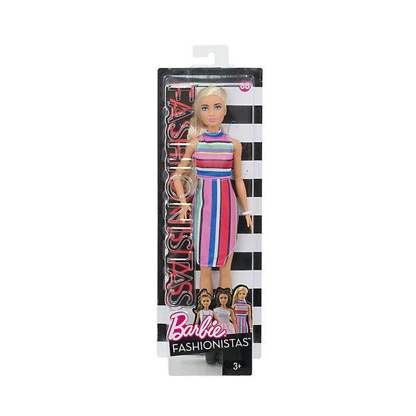"""Кукла Barbie """"Игра с модой"""" Полосы конфет, 29 см"""