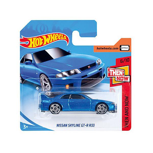 Базовая машинка Hot Wheels, Nissan Skyline GT-R R33