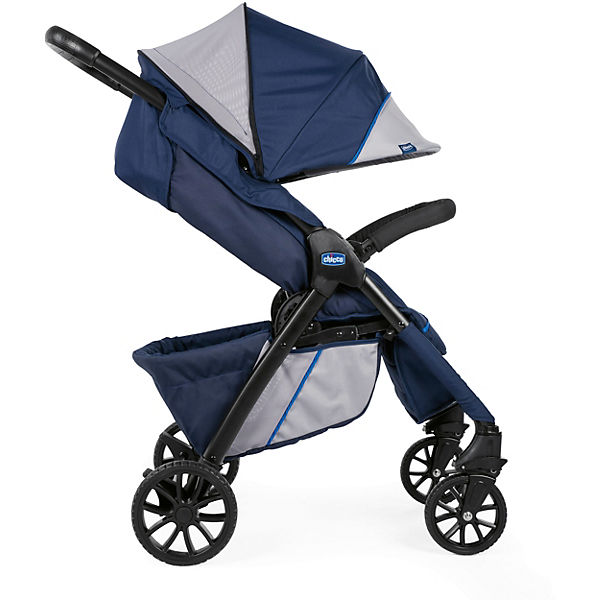 "Прогулочная коляска Chicco ""Kwik One Stroller"" Blueprint"