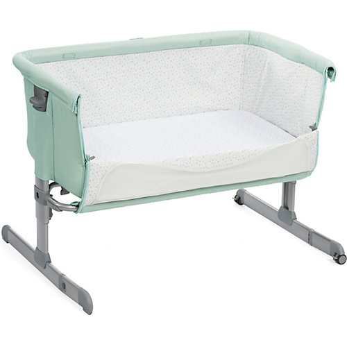 "Кроватка-люлька Chicco ""Next 2 Me"" dusty green от CHICCO"