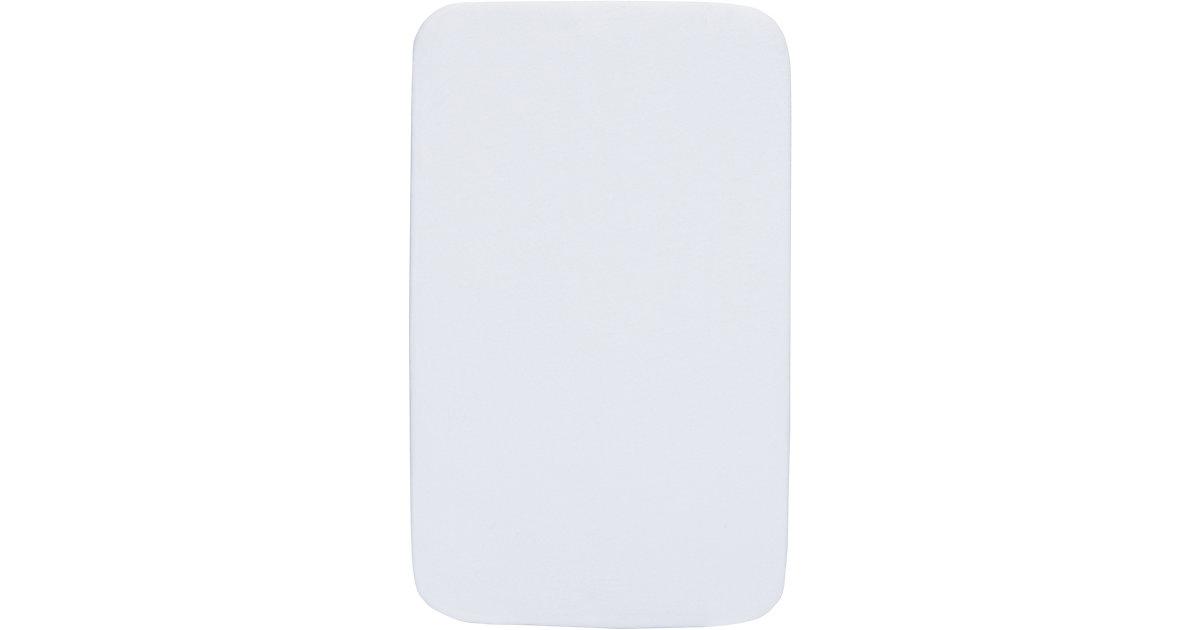 Frottee-Matratzenschoner Beistellbett Chicco Next2Me, 50 x 83 cm weiß  Kinder