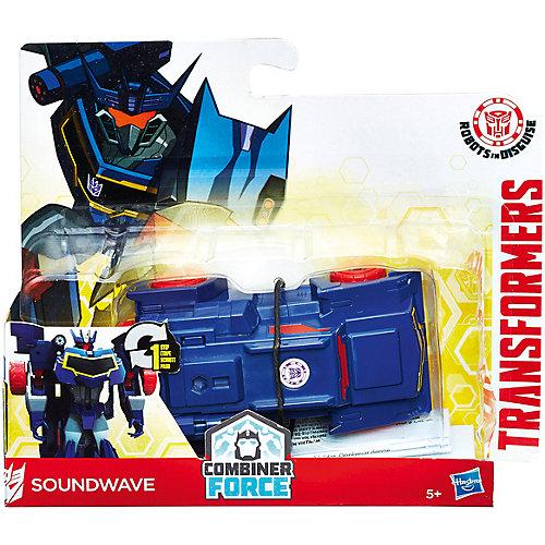"""Трансформеры Hasbro Transformers """"Роботы под прикрытием. Уан-Стэп"""", Сайундвейв от Hasbro"""