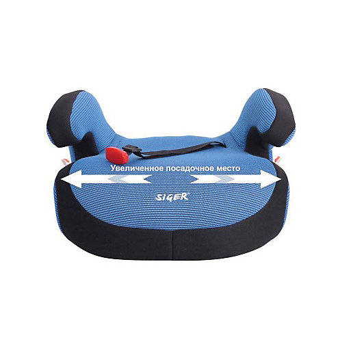 Автокресло-бустер, 22-36 кг., SIGER, синий от Siger