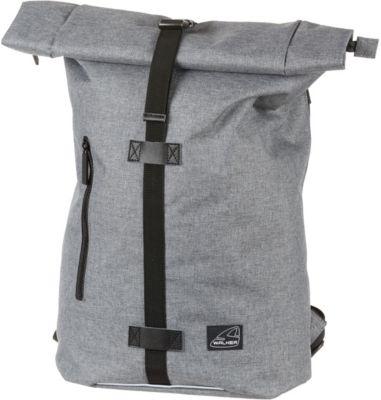 Rucksack Kuriertasche CLASSIC grey melange, WALKER | myToys
