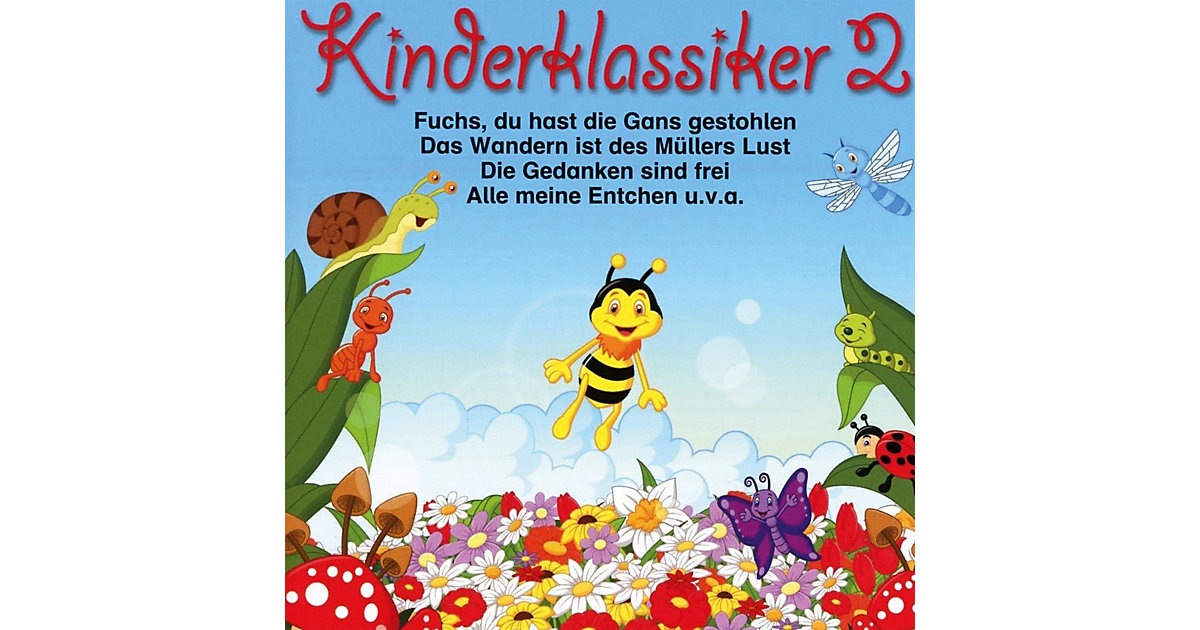 CD Kinderklassiker 2 - Kiddys Corner Band