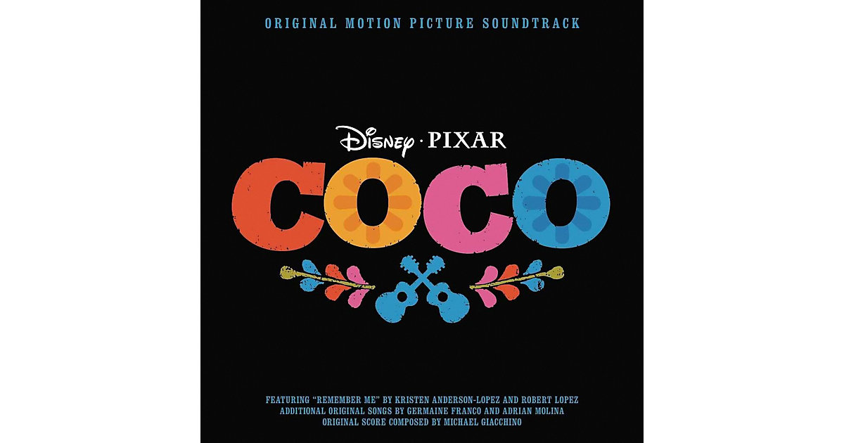 CD Coco - Original Soundtrack (Internationale V...