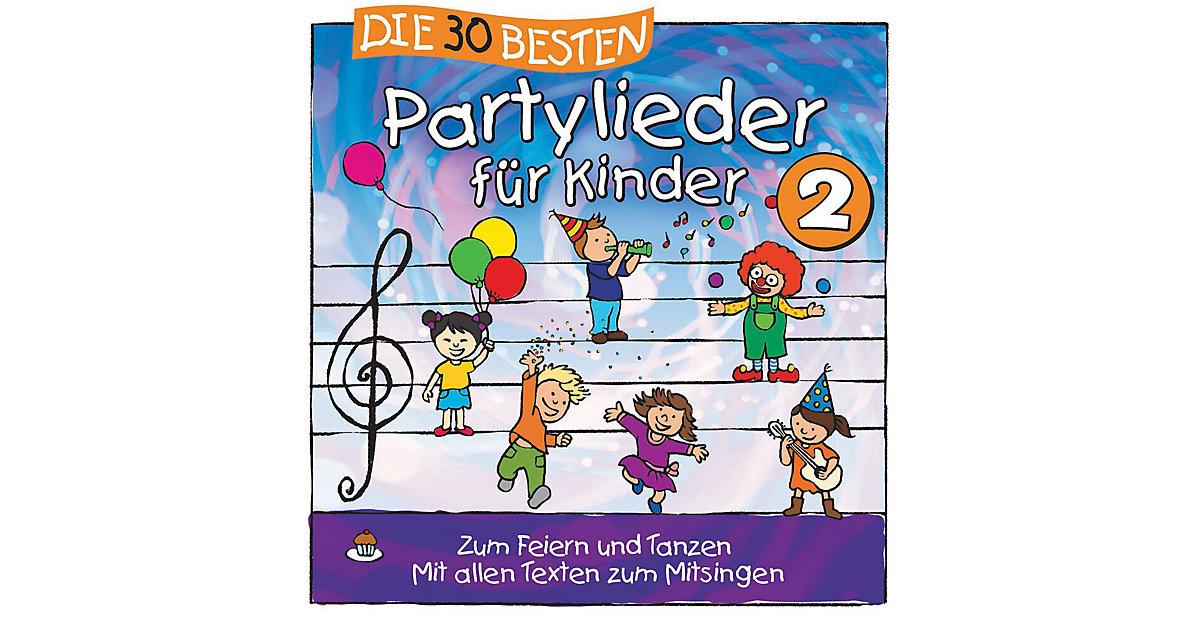 CD Die 30 Besten Partylieder Kinder 2 (S. Somme...