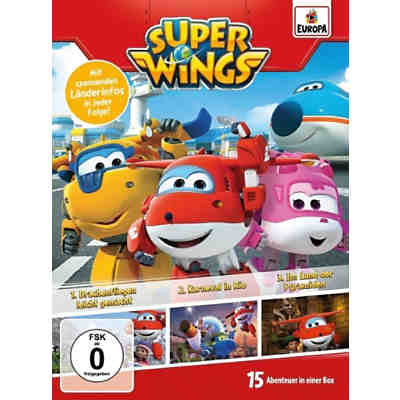 DVD Super Wings 01/3er Box (Folgen 1,2,3)